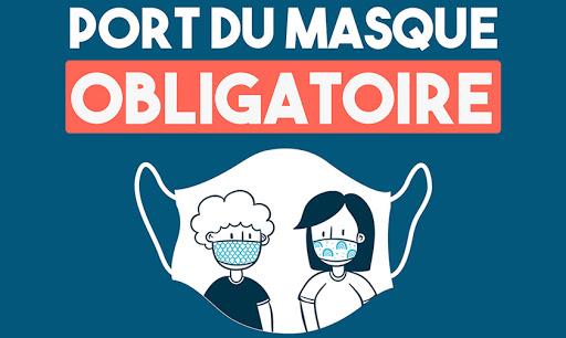 Obligation de port du masque dans l'enceinte des Hôpitaux Civils de Colmar – Note de service