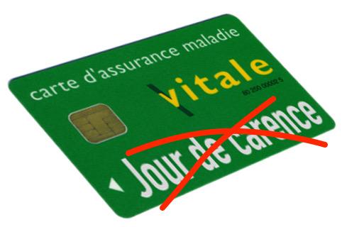 Tract mai 2020 – Régularisation jour de carence – Covid-19